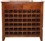 Princeton Wine rack with Drawers