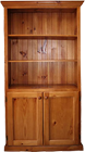 Classic Bookcase with bottom doors