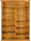Tall Colonial Staggered Bookcase