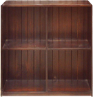 Small Pigeonhole Block Bookcase
