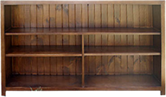 Tuscan Lowline Staggered Bookcase