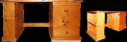 Bookend Desk