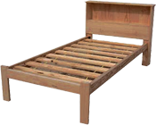 BOOKEND SOLID TIMBER BED