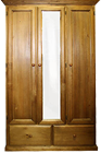 Bowral Combo Solid Timber Wardrobe