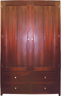Tuscan Solid Timber Wardrobe