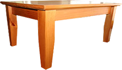 PRINCETON SOLID PINE COFFEE TABLE