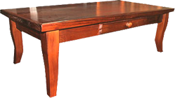 PROVINCIAL OAK COFFEE TABLE