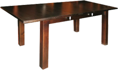 VIVA TASSIE OAK EXTENSION DINING TABLE