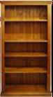 Tasman Solid Pine Bookcase
