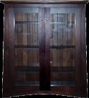 Zen Pine Library Bookcase