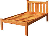 Budget Solid Timber Federation Bed