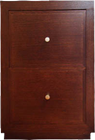 TUSCAN SOLID PINE FILING CABINET
