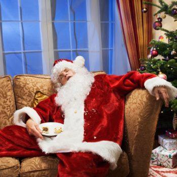 christmas santa furniture food coma sydney
